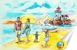 Постер Морская прогулка