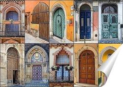 Постер Арочные двери