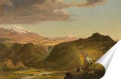 Постер Южноамериканский пейзаж