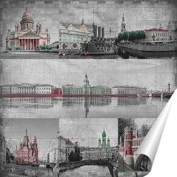 Постер Виды Санкт Пеетрбурга