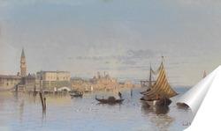 Постер Вид Венеции