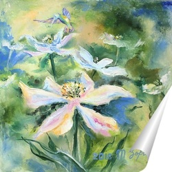 Постер Весенние цветы