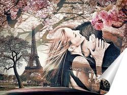 Постер Париж, Весна