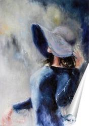Постер Незнакомка
