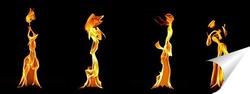 Постер лики огня