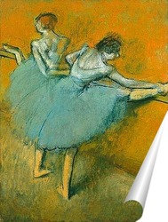 Постер Танцовщицы у станка, 1900