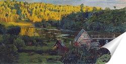 Постер Водяная мельница. 1888