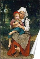 Постер Картина художника 19 века