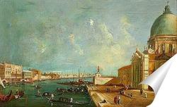 Постер Вход в Большой канал, Венеция