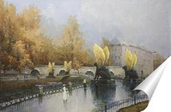 Постер Банковский мост. Санкт-Петербург. 1952-2000.