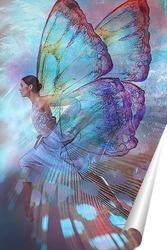 Постер Фея-бабочка