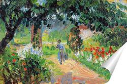 Постер Аллея в саду Эраньи