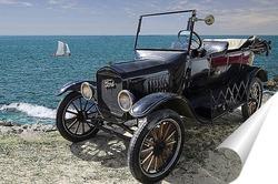 Постер Автомобиль Ретро - Форд