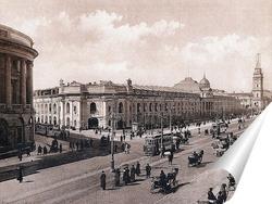 Постер  Невский проспект. Гостиный двор 1908