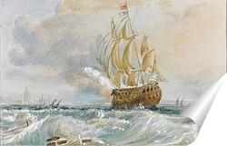 Постер Рисунок акварелью