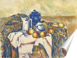 Постер Натюрморт с голубым чайником