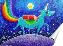 Постер Единорог