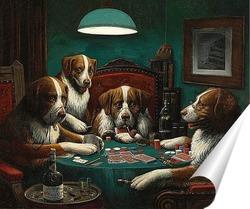 Постер Покер, 1894