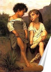 Постер Молодые купальщицы