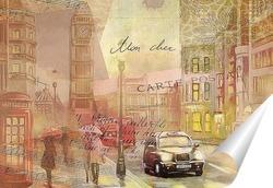 Постер Улицы Лондона