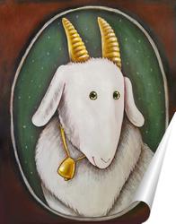 Постер Маленькая коза счастья.