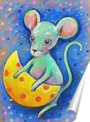 Постер Мышка и сыр