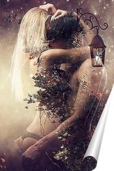 Постер Притяжение любви