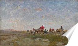 Постер Караван в пустыне