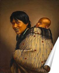 Постер Хеени Хирини с ребёнком