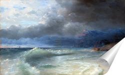 Постер Кораблекрушение.Бурное утро