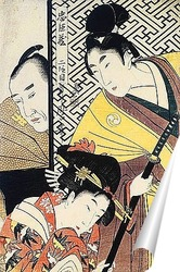 Постер Utamaro004