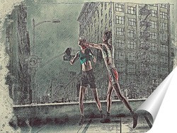 Постер Девушки в бою