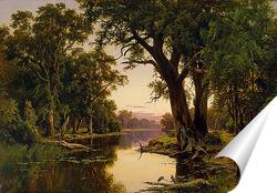 Постер Устье реки в Гоулберн.Виктория