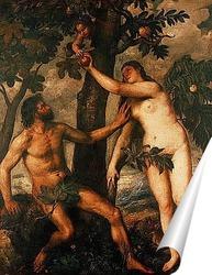 Постер Грехопадение.Около 1570.