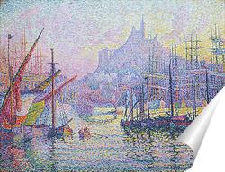 Постер Гавань в Марселе