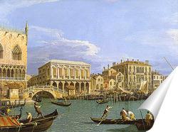 Постер Вид на Рива-дельи, Венеция