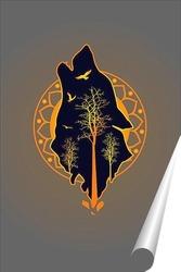 Постер Одинокий волк