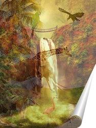 Постер В мире животных