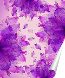 Постер Цветочная абстракция
