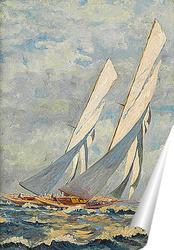 Постер Яхты