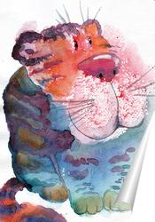 Постер Добрый-добрый кот