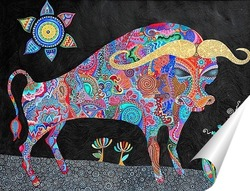 Постер буйвол