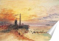 Постер Гавань Ярмут, Норфолк, 1840.