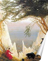Постер Меловые Скалы