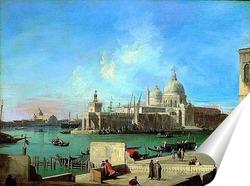Постер Вид на Санта Мария делла Салюте