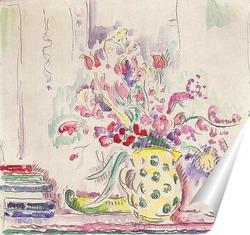 Постер Цветы натюрморт