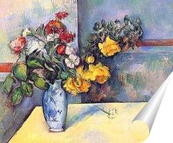 Постер Натюрморт с цветами