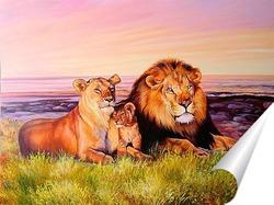 Постер Семейство царственных особ