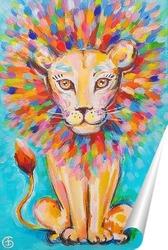 Постер Львёнок