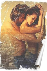 Постер Роман в Париже